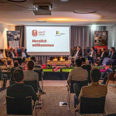"""Pressekonferenz als Kamingespräch im Hotel """"DAS KATSCHBERG"""""""
